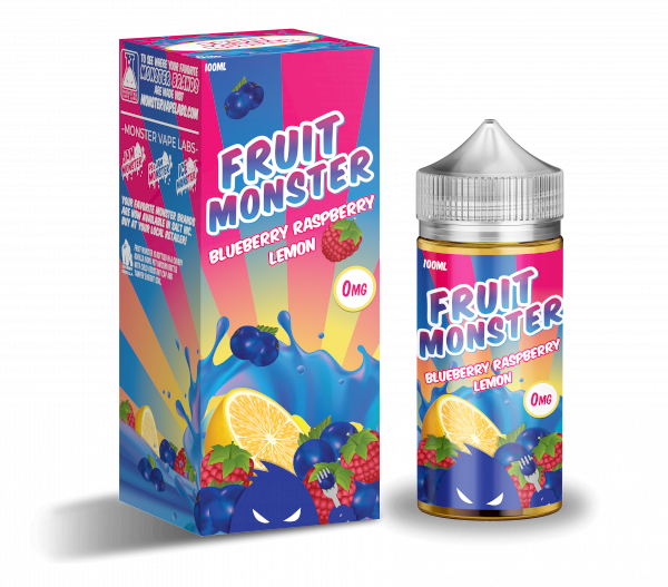 Fruit Monster - Blueberry Raspberry Lemon - 100ml