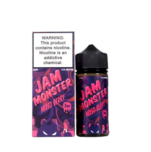 Jam Monster - Mixed Berry  100ml