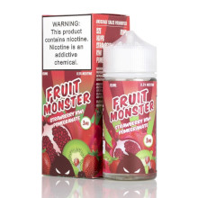 Fruit Monster - Strawberry Kiwi Pomegranate - 100ml