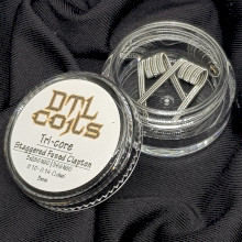 DTL Coils - Tricore Staggered Fused Claptons