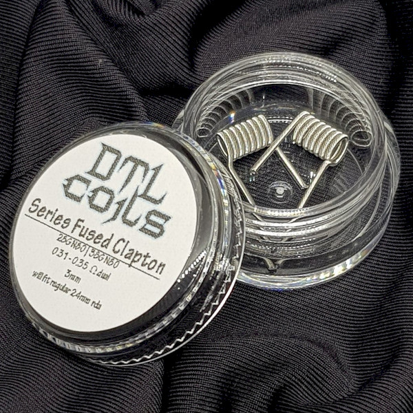 DTL Coils - Series Fused Claptons