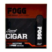FOGG Secret Sauce Disposable Kit 5% - Cigar - 3 Pack