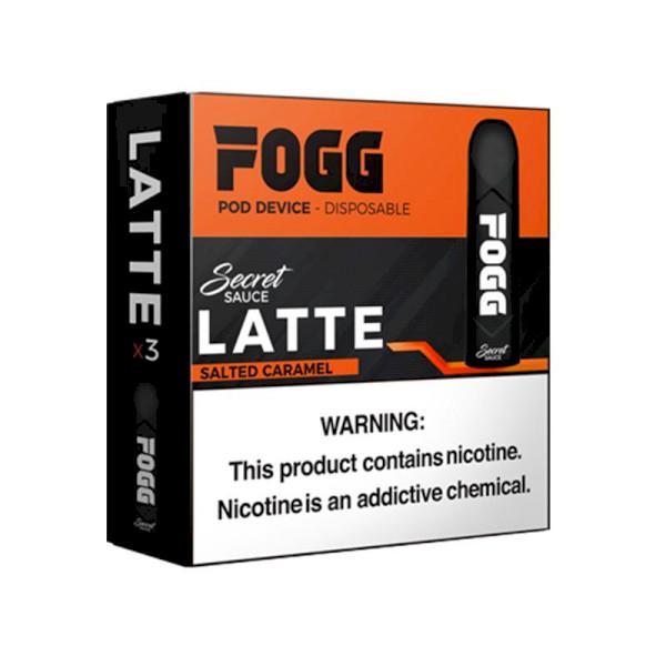 FOGG Secret Sauce Disposable Kit 5% - Latte