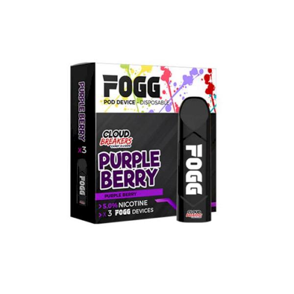 FOGG Secret Sauce Disposable Kit 5% - Purple Berry