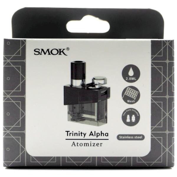 SMOK Trinity Alpha Cartridge Kit - Prism Stainless Steel