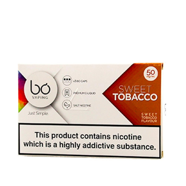 BO Vape - Sweet Tobacco 50mg - 3 Pack