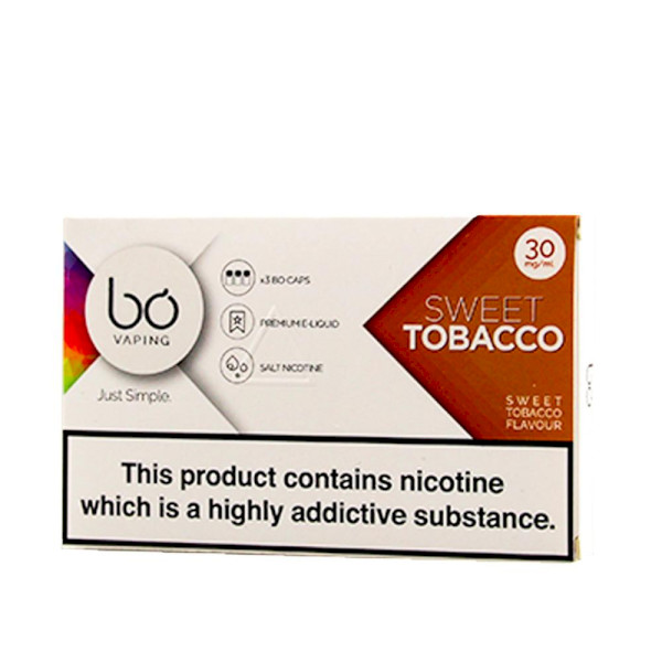 BO Vape - Sweet Tobacco 30mg - 3 Pack