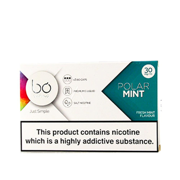 BO Vape - Polar Mint 50mg - 3 Pack