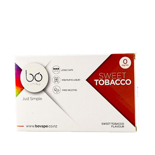 BO Vape - Sweet Tobacco 0mg - 3 Pack