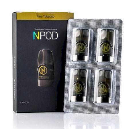 Nasty NPod - Fine Tobacco - 4 Pack