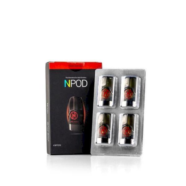 Nasty NPod - Red Vanilla - 4 Pack