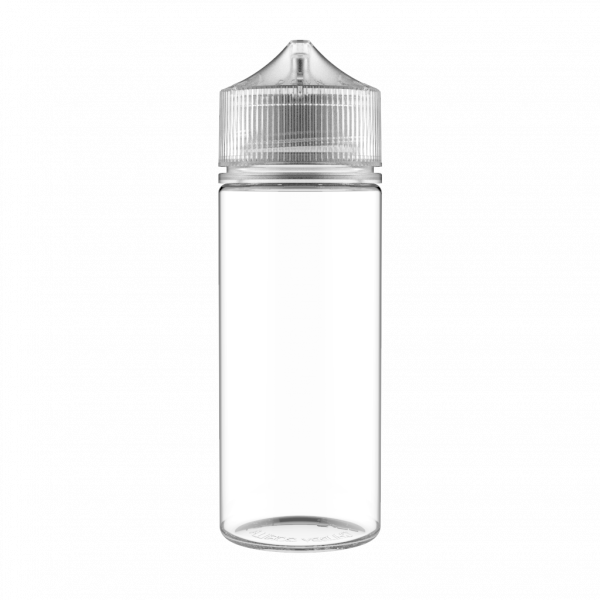 120ml Chubby Gorilla Bottle 10 Pack - Clear