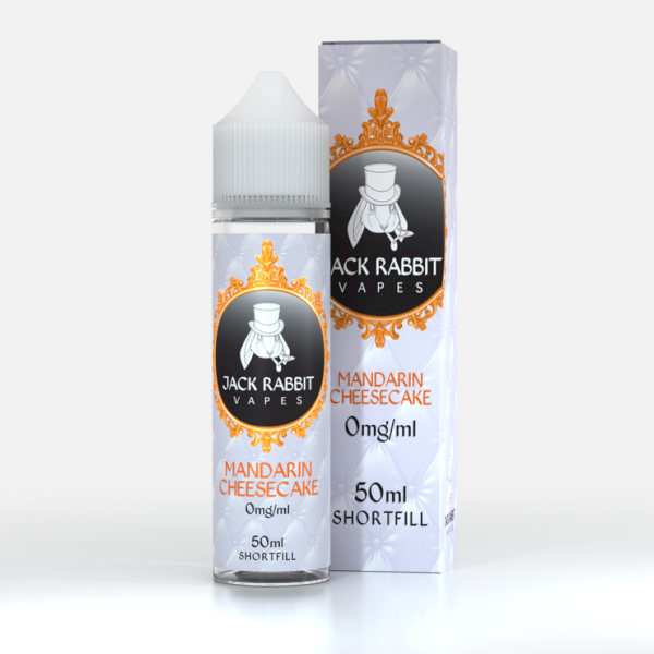 Jack Rabbit Vapes 60ml - Mandarin Cheesecake