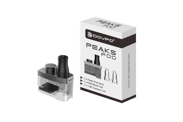 DOVPO Peaks Cartridge Kit 2ml (Empty Cartridge)