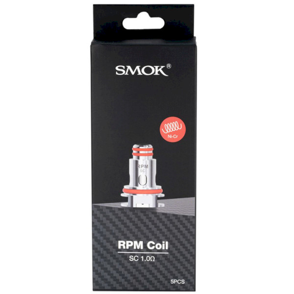 SMOK RPM40 Coil 1ohm (SC) - 5 Pack