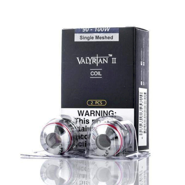 Uwell Valyrian II Coil Stainless Steel 0.32ohm UN2 Single Meshed - 2 Pack