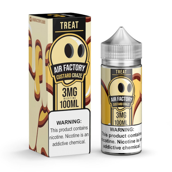 Treat Factory - Custard Craze - 100ml