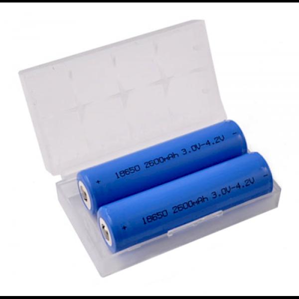 2x 18650 Battery Case