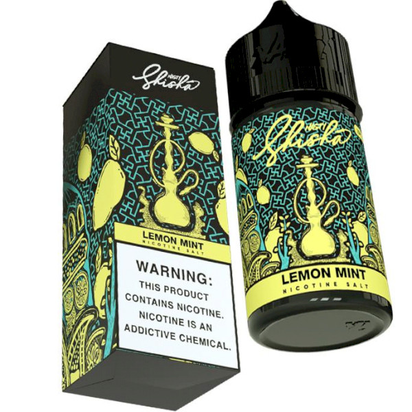 Nasty Shisha SALTS Lemon Mint - 35mg