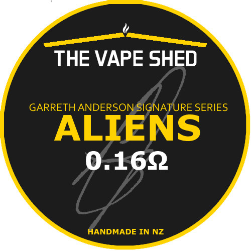 The Vape Shed Garreth Anderson Signature Series - Aliens