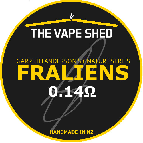 The Vape Shed Garreth Anderson Signature Series - Fraliens