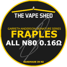 The Vape Shed Garreth Anderson Signature Series - Fraples