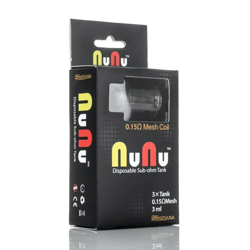 Sikary OG Disposable Sub Ohm Tank 3ml -  Green - 3 Pack