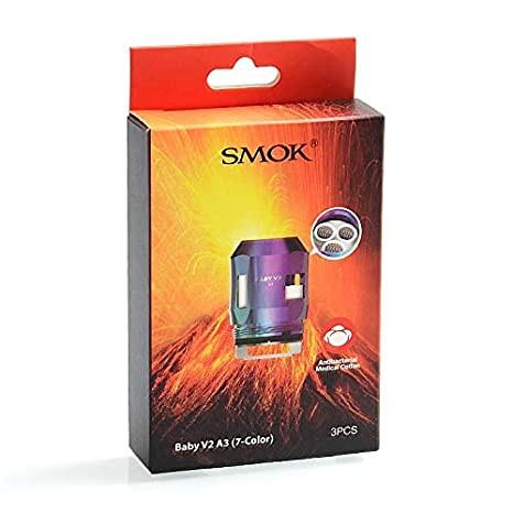 Smok Baby V2 A3 Coils 0.15ohm - Rainbow - 3 Pack