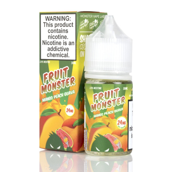 Fruit Monster - Mango Peach Guava - Salts - 30ml - 24mg
