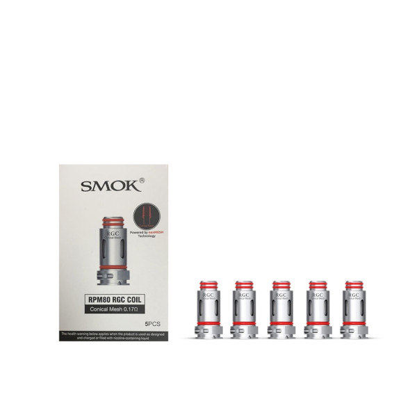 SMOK RPM80 RGC Conical Mesh 0.17Ω Coil - 5 Pack